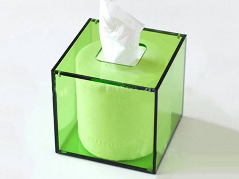 亚克li纸巾盒,亚克li方形纸巾架,有ji玻璃jia工,亚克lijia工厂