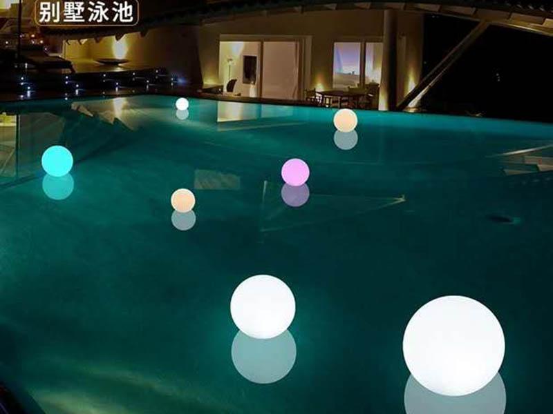水上大型圆球装饰灯